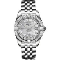 Breitling Galactic 32 Steel 32mm Mother of pearl No numerals United States of America, New Jersey, Princeton