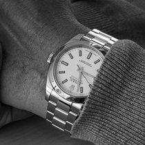 Rolex Milgauss Zeljezo 40mm Bjel Bez brojeva