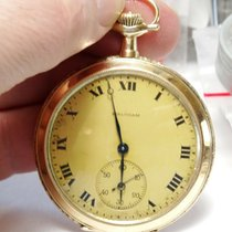 Waltham Rose gold 46mm Manual winding Waltham Royal 12S Pocketwatch pre-owned United States of America, New Hampshire, Portsmouth
