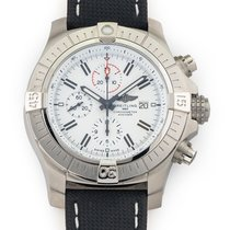 Breitling pre-owned Automatic 48mm White Sapphire crystal 30 ATM