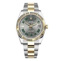 Rolex Datejust Gold/Steel 41mm Grey No numerals United States of America, New York, New York