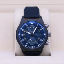IWC Ceramic Automatic Blue 44.5mm pre-owned Pilot