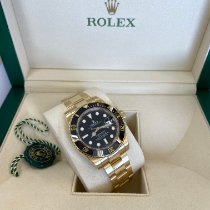 Rolex Submariner Date 116618LN Good Yellow gold 40mm Automatic United States of America, New Jersey, Totowa