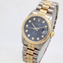 Rolex Datejust White gold 31mm Blue