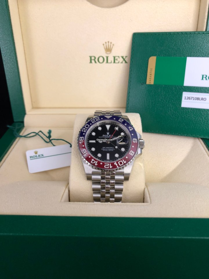 Rolex GMT-Master II 126710BLRO GMT-Master II 2018 2020 new