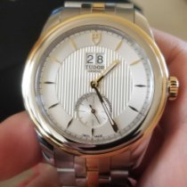 Tudor Glamour Double Date new Automatic Chronograph Watch with original box and original papers M57103-0001