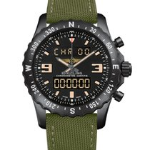 Breitling Chronospace Military Steel 48mm Black No numerals United States of America, New Jersey, Princeton