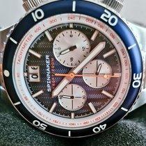 Spinnaker pre-owned Quartz 43,9mm Blue Mineral Glass 20 ATM