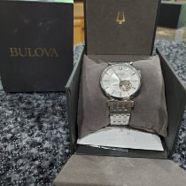Bulova new Automatic Display back Only Original Parts Steel Sapphire crystal