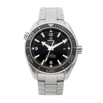Omega Seamaster Planet Ocean pre-owned 46mm Black Date Fold clasp