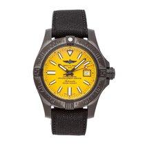 Breitling Avenger II Seawolf Steel 45mm Yellow No numerals