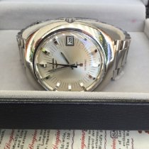 Longines Ultronic Steel 40mm Silver No numerals