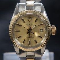 Tudor Gold/Steel 25mm Automatic Prince Date pre-owned