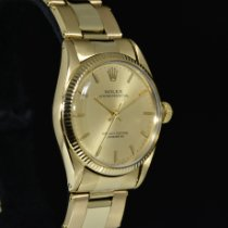 Rolex Oyster Perpetual 31 Yellow gold 31mm Gold No numerals
