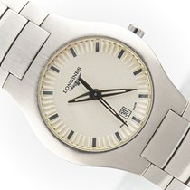 Longines Oposition Steel 29mm Silver