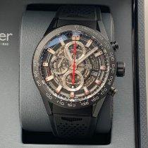 TAG Heuer Carrera Calibre HEUER 01 Ceramic 43mm Black Arabic numerals