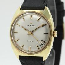 Zenith Sporto Or/Acier 33mm Argent Sans chiffres