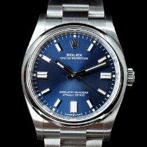 Rolex Oyster Perpetual Acier 36mm Bleu France, Paris