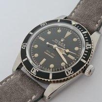 Rolex Submariner (No Date) Acier Noir Sans chiffres France, Rueil Malmaison