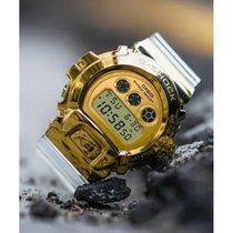 Casio G-Shock GM-6900SG-9DR Novo Aço 49.7 mmmm Quartzo