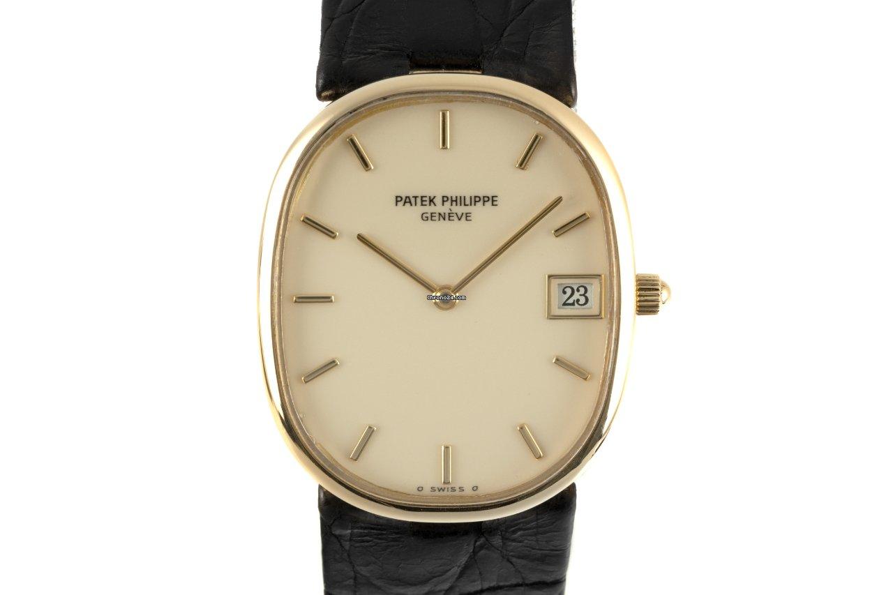 Patek Philippe Golden Ellipse 3788 1985 pre-owned