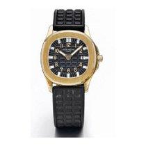 Patek Philippe Yellow gold Automatic Black 29.5mm new Aquanaut