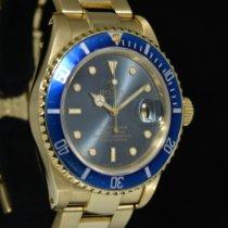 Rolex Submariner Date Oro giallo 40mm Blu Senza numeri Italia, Milano