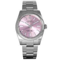 Rolex Oyster Perpetual 34 Staal 34mm Roze Nederland, Purmerend