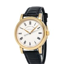 A. Lange & Söhne Yellow gold Manual winding Silver Roman numerals 40mm pre-owned Richard Lange