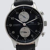 IWC Portuguese Chronograph Steel 41mm Black Arabic numerals South Africa, Johannesburg