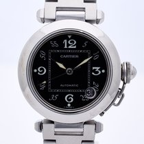 Cartier Steel 35mm Automatic 2324 pre-owned