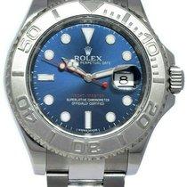 Rolex Yacht-Master 40 Сталь 40mm Синий