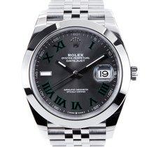 Rolex Datejust Stahl 41mm Grau Keine Ziffern Deutschland, Freiburg i. Br.