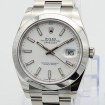 Rolex Datejust Steel 41mm White Australia