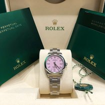 Rolex Oyster Perpetual 31 Steel 31mm Pink No numerals United States of America, New York, NEW YORK