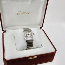 Cartier Santos Galbée Сталь 29mm Цвета шампань Римские