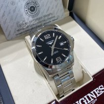 Longines Steel 41mm Automatic L3.777.4.58.6 pre-owned