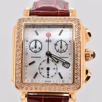 Michele Deco Gold/Steel 33mm Mother of pearl United States of America, Washington, Bellevue