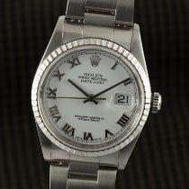 Rolex Datejust 16220 Zeer goed Staal 36mm Automatisch