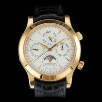 Jaeger-LeCoultre Rose gold Automatic 41mm pre-owned Master Memovox