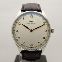 IWC Portuguese Hand-Wound Steel 42mm White Canada, Montreal