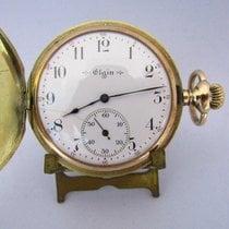 Elgin Oro amarillo 45.5mm Cuerda manual usados España, Sevilla