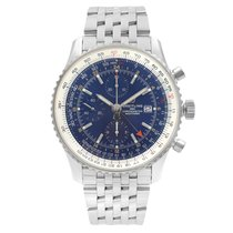 Breitling Navitimer GMT Steel 46mm Blue United States of America, New York, NYC