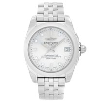 Breitling Galactic 36 Steel 36mm Mother of pearl United States of America, New York, NYC