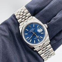 Rolex Datejust Steel 36mm Blue No numerals UAE, Abu Dhabi