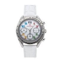 Omega Acero Automático Blanco 35.5mm usados Speedmaster Ladies Chronograph