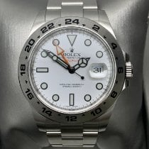Rolex Explorer II Steel 42mm White No numerals Malaysia, Georgetown, penang