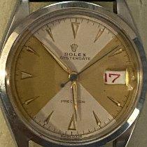 Rolex Oyster Precision Steel 34mm Gold No numerals Australia, Tewantin