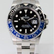 Rolex GMT-Master II Stahl 40mm Schwarz Keine Ziffern Schweiz, Lausanne