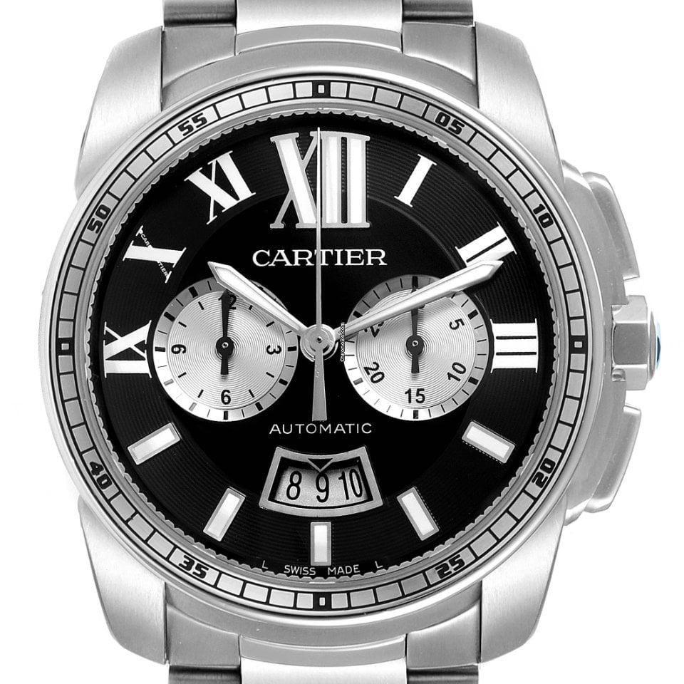Cartier Calibre de Cartier Chronograph W7100061 2009 pre-owned